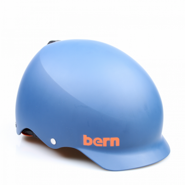 Bern Helm Baker Matte Blue (Winter Liner)