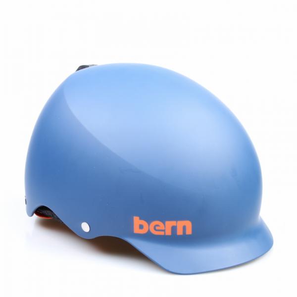 Bern Helm Baker Matte Blue (Winter Liner)