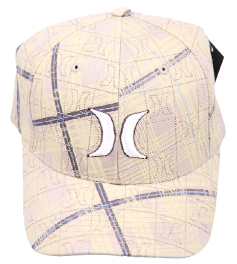 Hurley Flexfit Cap One & Only Pattern Me Dune