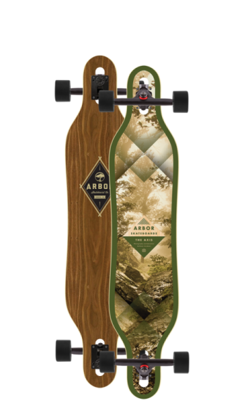 Arbor Longboard Complete Axis Walnut
