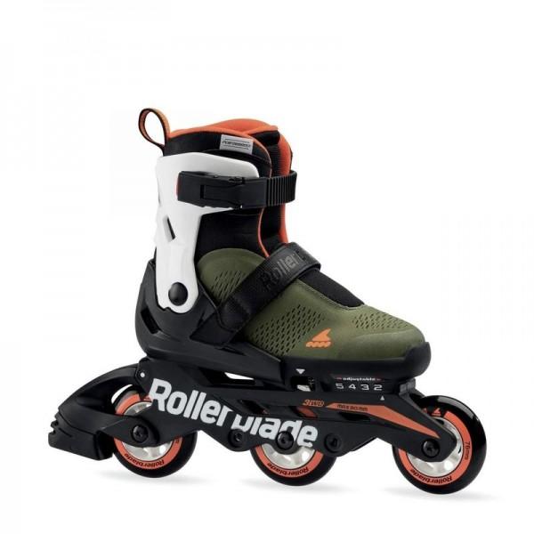 Rollerblade Microblade Free 3WD grün/orange