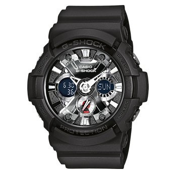 Casio G-Shock Uhr GA-201-1AER black
