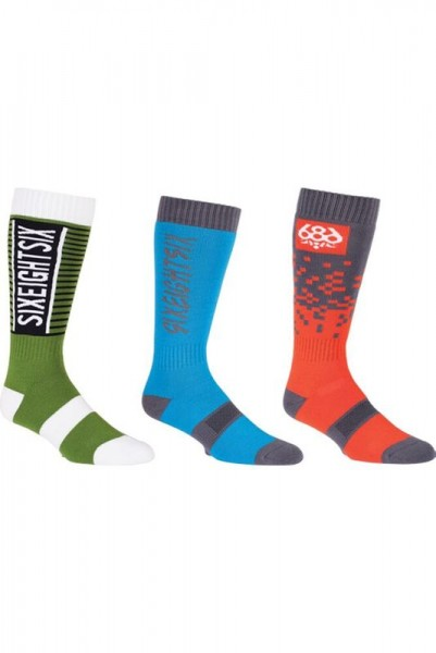 686 Knock Out Sock 3-Pack