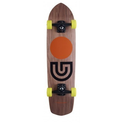 Gold Coast Cruiser Complete Slap Stick Walnut