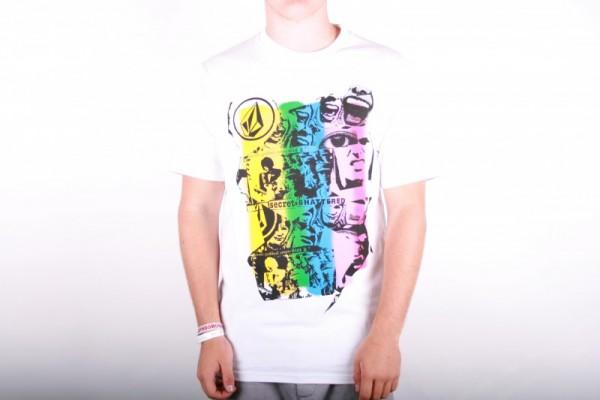 Volcom T-Shirt Shattered Basic white