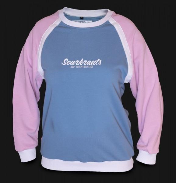Sourkrauts Girlysweater Jolanda Hellblau