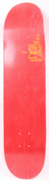South Central Skateboard Deck Red 7.25''