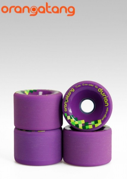 Orangatang Longboard Wheels Durian 83A 75mm 45mm purple