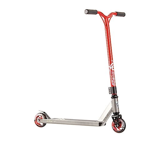 Grit Complete Scooter Fluxx - Grey/Red