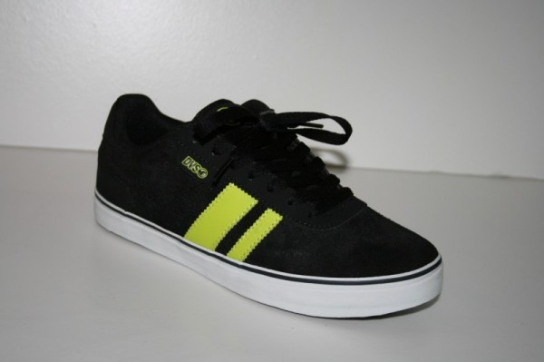 DVS Schuhe Milan 2 CT black/lime SMU EU