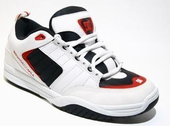 DC Schuhe Anex Farbe: white-navy