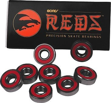 Bones Reds Bearings 8 Pack