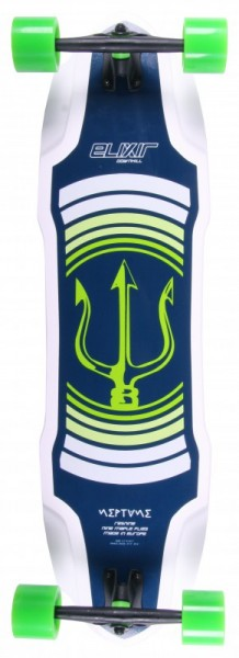 Elixir Longboard Complete Neptune Green