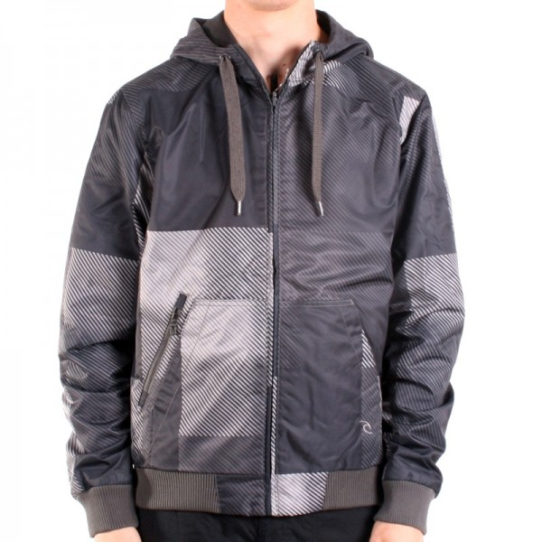 Rip Curl Lumber Jacket dark shadow
