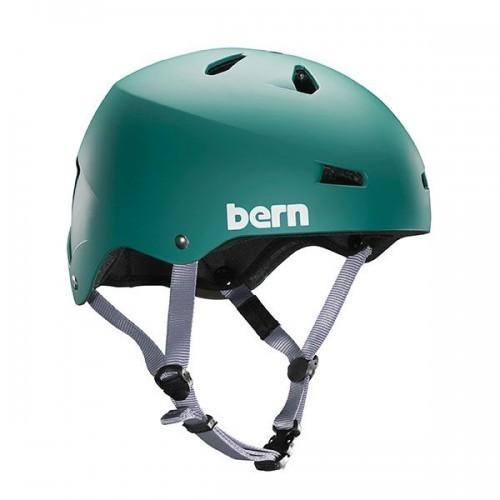 Bern Helmet Macon w/ Crankfit - Green