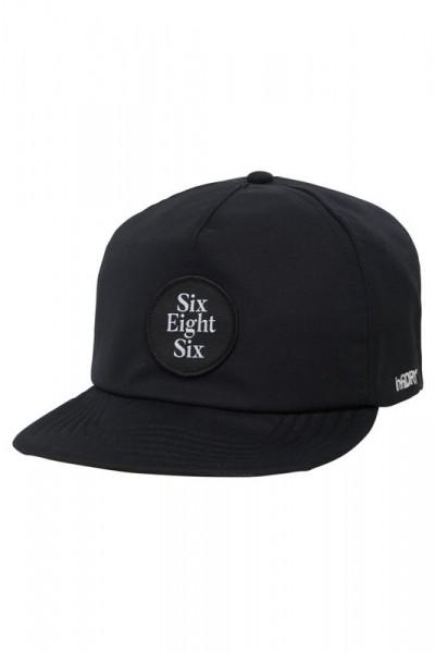 686 Moon Adjustable Hat black