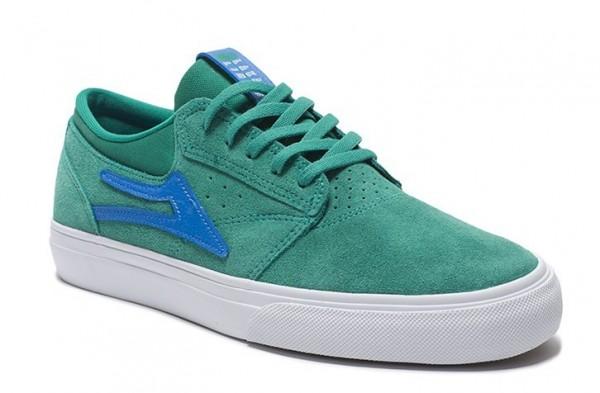 Lakai Schuhe Griffin green/blue suede