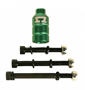 AOscooter Peg incl. 3 bolts Green
