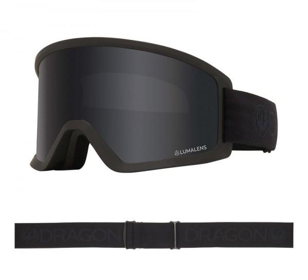 Dragon Goggle DX3 OTG - Blackout with Lumalens Dark Smoke Lens