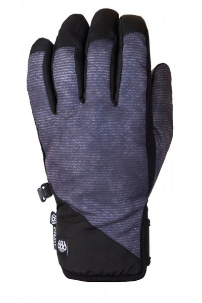 686 Ruckus Pipe Glove charcoal