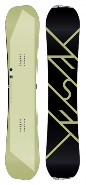 Yes Snowboard The Asym 154