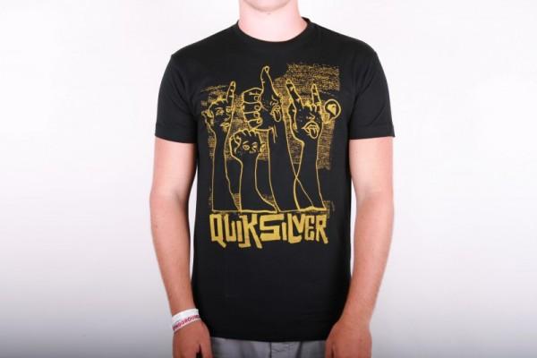 Quiksilver T-shirt Thumbs - Black