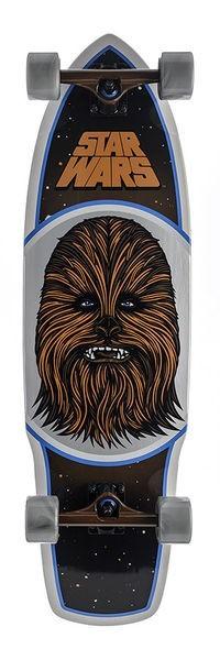 "Santa Cruz Longboard Chewbacca 10.0"""
