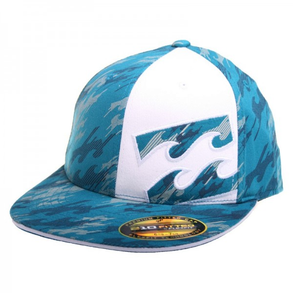 Billabong Flat Cap Squared Up aqua