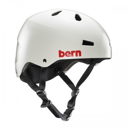 Bern Helmet Macon w/ Crankfit - Light Grey