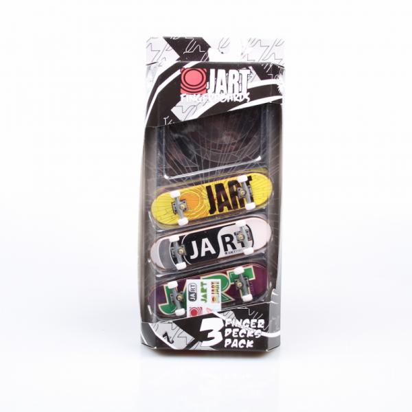 """Jart Fingerboards """"3 Finger Decks Pack"""""""