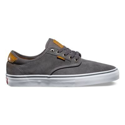 Vans Shoe Chima Ferguson Pro - Burnished Leather Dark Grey