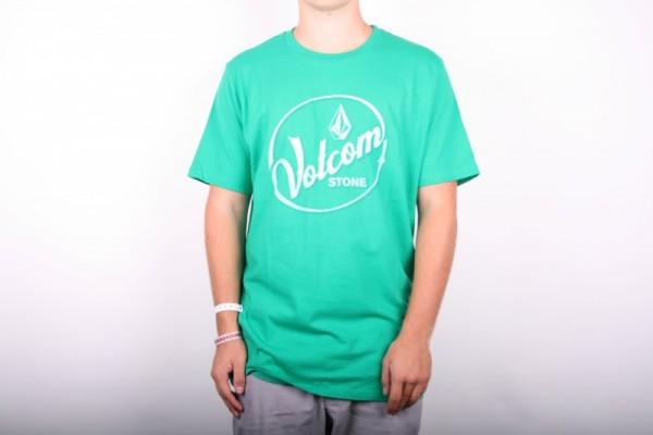 Volcom T-Shirt Time SS Basic Tee Green