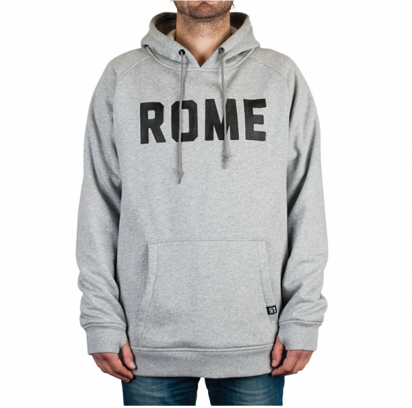 Rome Riding Pullover - Heather Gray