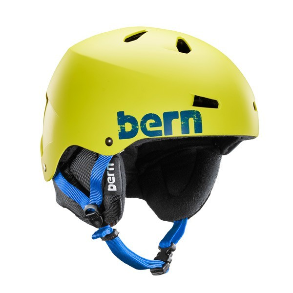 Bern Helm Macon Matte Neon Yellow Distress