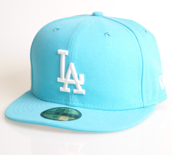 New Era Cap 59-Fifty Los Angeles viceblue/white League Basic