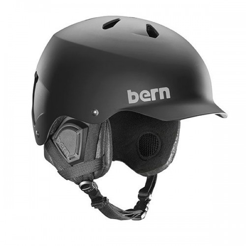 Bern EPS Helm Watts with 8Tracks Crankfit Liner - Schwarz
