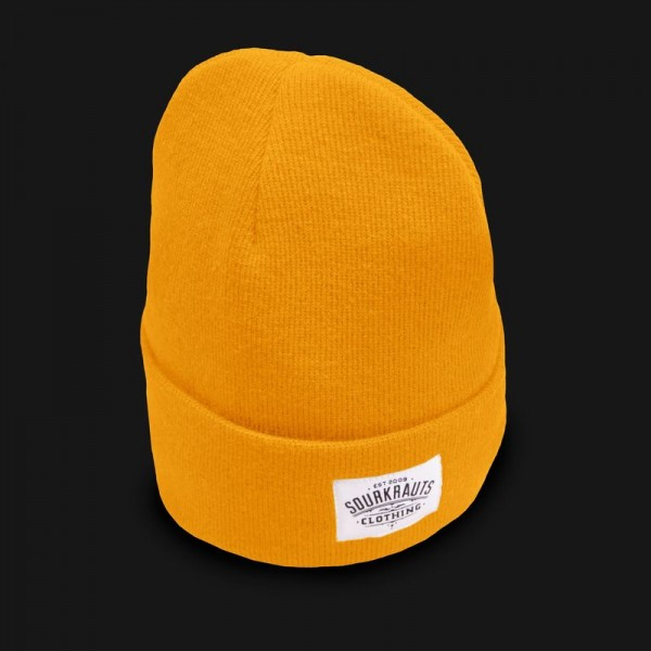 Sourkrauts Beanie 19 Yellow