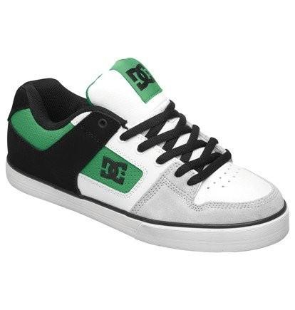 DC Schuhe Pure Slim black/emerald/white