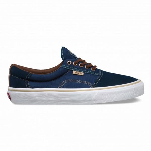 Vans Shoe Rowley Solo - Dress Blue/ Brown