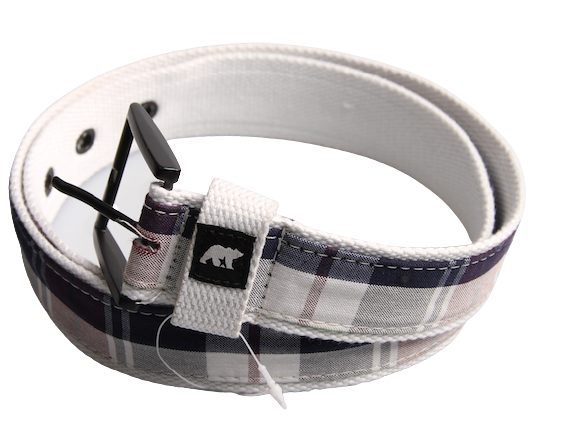Ezekiel Hamachi Belt White