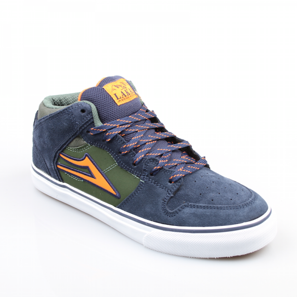 Lakai Schuhe Carroll Select All Weather navy suede