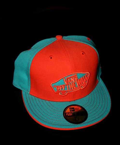 New Era Cap 59-Fifty Vans orange/blue