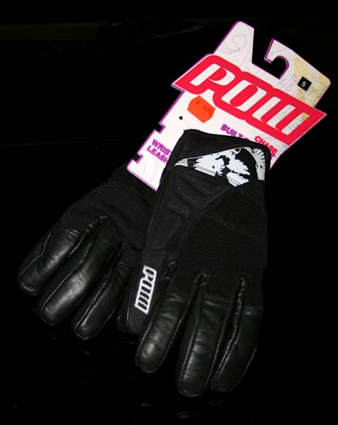 Pow Gloves Chase black/white