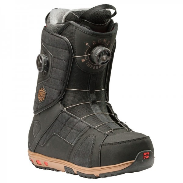Rome Snowboard Boot Inferno Black/Red