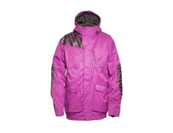 Zimtstern Snow Jacket Grizzly Twill Solid purple