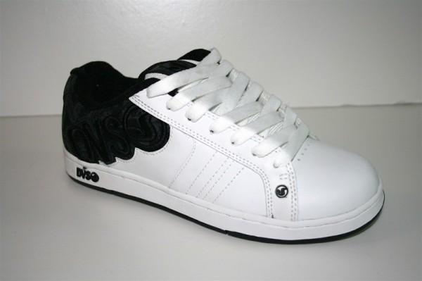 DVS Schuhe Accomplice white/leather/print