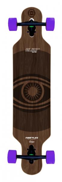 Elixir Longboard Complete Cyclope - Flex One