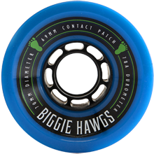 Hawgs Longboard Wheels Biggie Hawgs 70mm 78a - Blue