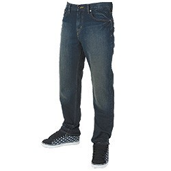 Volcom Jeans Black Zip