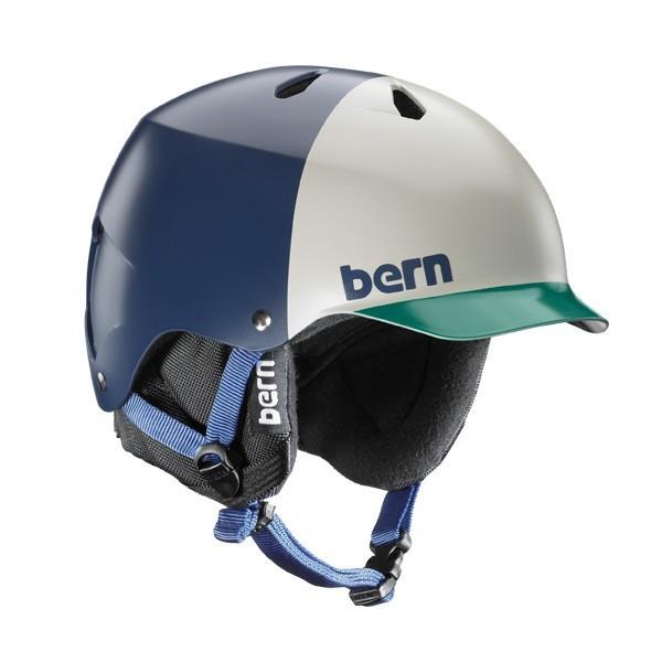 Bern Helm Watts EPS Navy Blue Hatstyle with Cordova Liner
